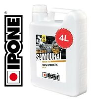 Huile IPONE Samourai Racing 2 TEMPS 2T RACING 100% synthèse NEUF Oil Synthesis