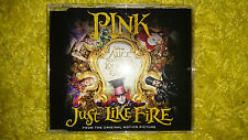 P!nk Pink Just Like Fire CD single Alice Through the Looking Glass