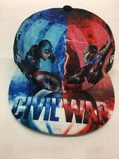 New Era Captain America Civil War Marvel Prototype Sample 7-1/2 Fitted 59 Fifty