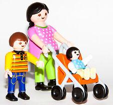 Playmobil 4782 Mother Children Madre hijos pushchair pram NEW no BOX Worldwide