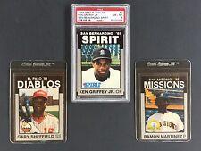 1988 Best Platinum San Bernardino Spirit #1 Ken Griffey Jr. - Unique Opportunity