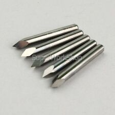 Router Pyramid engraving 5PC 40° Degree Carbide Steel CNC Bits gb