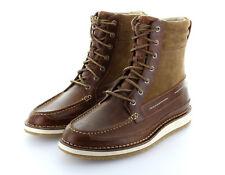 Sperry Top Sider Dockyard Boot Tan Stiefel Leder Schuhe Gr. 42 / US 9