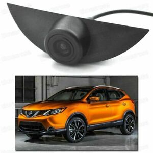 Wide Degree CCD Front View Camera Logo Embedded for Nissan Rogue Sport 2017-2018