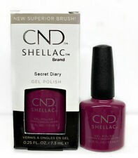 Cnd Shellac Gel Polish Treasured Moment Collection Secret Diary 0.25 oz