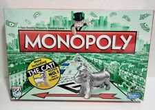 Monopoly Board Game Classic With The Cat Token Hasbro New Sealed 2013 Special Ed