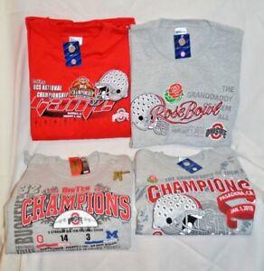 U PICK Ohio State OSU T Shirt COLLECT 2007 2010 Gold PANTS Rose BOWL Big TEN New