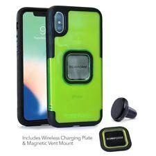 Rokform IPHONE x Presa Custodia Flo Giallo con Auto Vent Mount 303810