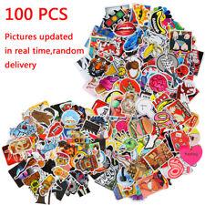 Guitar Travel Case Stickers pack decal sticker Random Vinyl Skateboard 100pcs