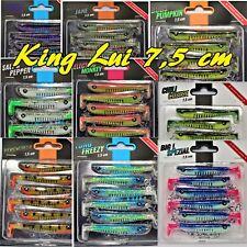 Monkey Lures 7,5 cm King Lui Gummifische Kunstköder alle  Farben