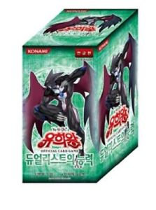 """Yu-Gi-Oh! official Cards """"Dualist's ability""""  Booster -KOREA VER"""