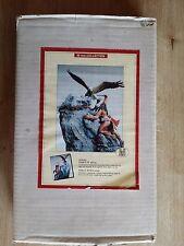 """Figurine Vintage en Plomb """"L'Indien et l'Aigle"""" En Très Bon Etat."""
