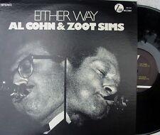 Al Cohn & Zoot Sims US Reissue LP Either way NM Zim ZMS2002 Jazz Cool Bop