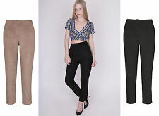 Unbranded Loose Fit High Rise Tailored Trousers for Women