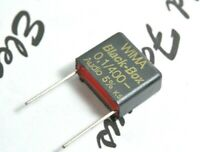 1pcs - WIMA Black Box 0.1uF (100nF) 400V 5% pitch:15mm Capacitor NOS Genuine