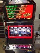 BALLY ALPHA 9000 ( BLAZING 7's )  HOT SHOT PROGRESSIVE 5-REEL SLOT MACHINE