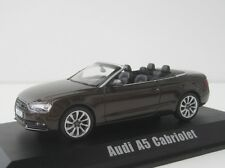 Audi A5 Cabriolet 2012 Voiture Miniature 1/43 Collection NOREV