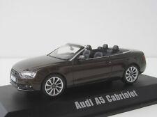 AUDI a5 Cabriolet 2012 1/43 teakbrown MET. NOREV 830110 Convertible Cabrio