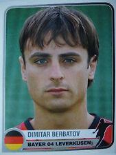 91 Dimitar Berbatov Bayer Leverkusen Champions of Europe 1955 - 2005