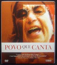 6-DVD-Set Michel Giacometti - POVO QUE CANTA, Portugal