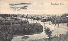 Thorn Westpreussen Flugzeug über Schießplatz Postkarte
