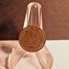 CIRCULATED 1950D 5 PFENNIG WEST GERMAN COIN (53117)1