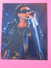 early U2 photo Bono 8 x 10