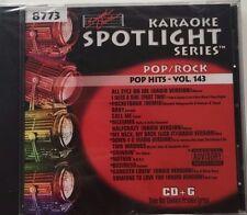 Sound Choice Karaoke Spotlight Series Pop/Rock Pop Hits-Vol.143 8773