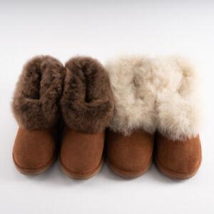 Sheepskin Leather Slippers Rubber Soles Portuguese Genuine Luxury