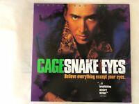 Snake Eyes LD Widescreen Edition Nicholas Cage Gary Sinise Carla Gugino