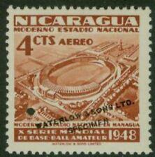 Nicaragua 1949 Stadium 4c World Series color sample-2