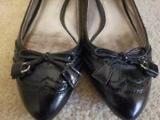 Womens Coach Black Flats Shoes 6.5
