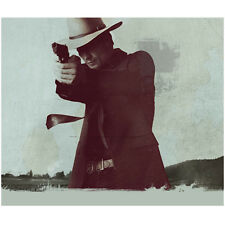 Justified Timothy Olyphant as Raylan Givens Aiming for Justice 8 x 10 Inch Photo