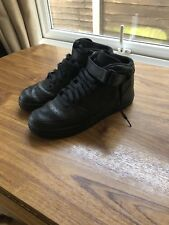 Nike Air Foce 1 Mid Black Size 9.5