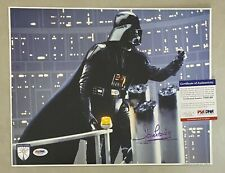 DAVE PROWSE Signed Darth Vader STAR WARS 11x14 Official Pix Photo PSA/DNA COA