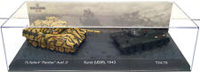 The Battle of Kursk (USSR) 1943 Pz.Kpfw vs 'Panther' Ausf D vs T34/76 1:72 Scale