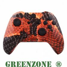 Red Dragon Scale Xbox One Replacement Controller Shell Mod Kit + Buttons Mod Kit