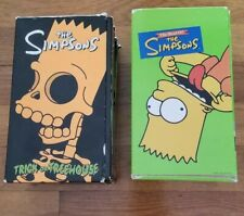 The Simpsons Trick or Treehouse & The Best Of The Simpsons (Both are 3 Tape Sets
