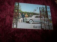 Catalogue /  Brochure FIAT 2300 de Luxe 196? //