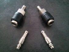 Lot raccord rapide air comprime neuf  (coupleur) pour tuyau de 10