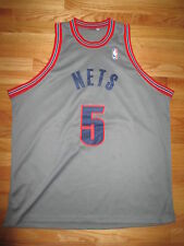 JASON KIDD No. 5 NEW JERSEY NETS (Size 54) KNICKS Jersey