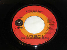 Dave Gray: After the Ball / Eve'rybody Else (Go Take a Walk) [Unplayed Copy]