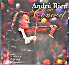 ANDRÉ RIEU en concert LIVE CD 1996 PHILIPS voix du printemps/a la chasse EX++