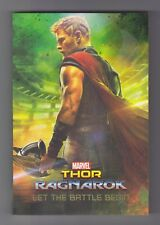 Marvel Thor Ragnarok Let the Battle Begin Novelisation Paperback Book