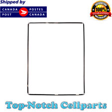 iPad 2 3 4 Digitizer LCD screen Bezel Plastic Mid-Frame with Adhesive - Black