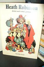 HEATH ROBINSON ARTIST AND COMIC GENIUS, LEWIS, 1st UK P/B 1973