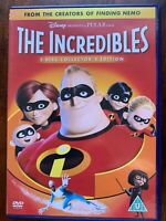 The Incredibles DVD 2004 1 Pixar Walt Disney Animated Feature Movie 2-Disc