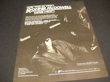Ronnie McDowell We Told You.he was hot!1982 Promo Poster Ad mint condition