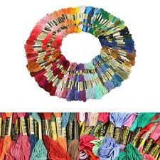 Lots 100 Colors Variegated Anchor Cross Stitch Cotton Embroidery Thread Floss