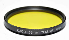 Kood Yellow Filter Made in Japan 55mm